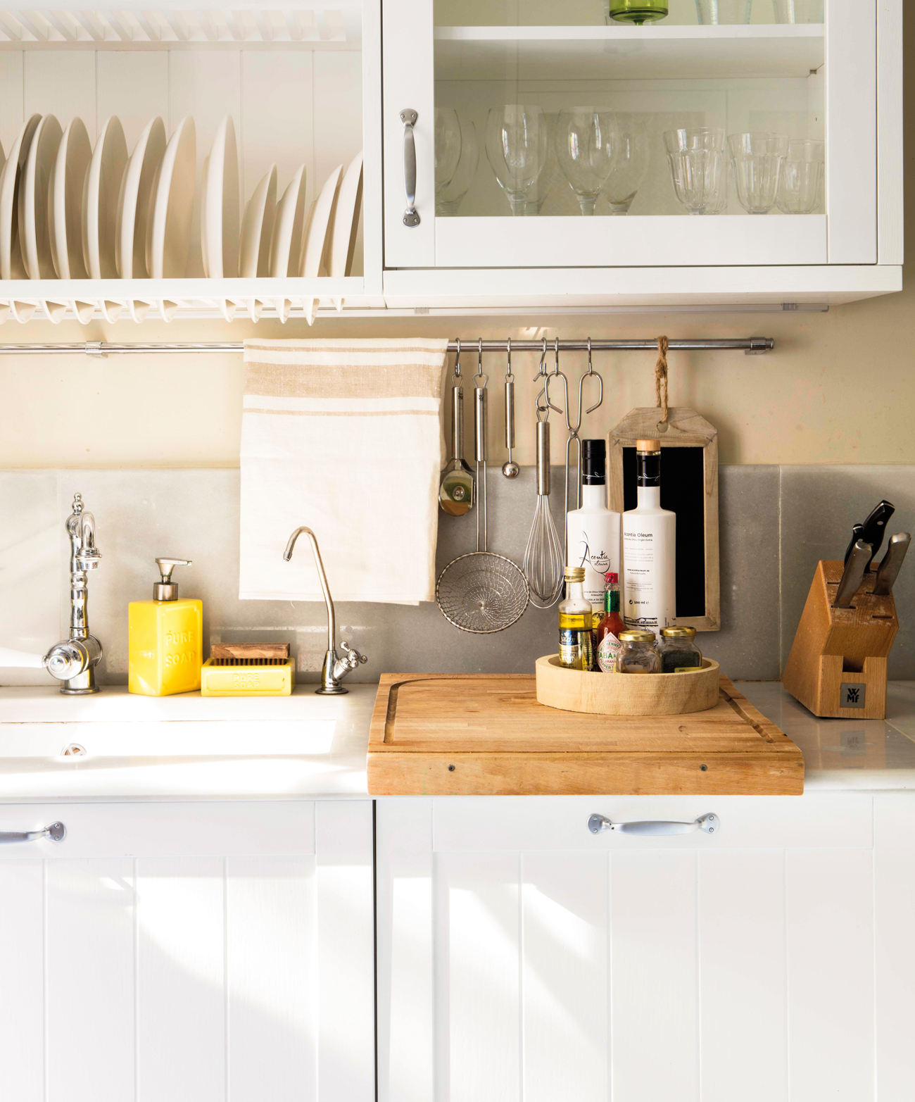 Detalles para renovar tu cocina - Trapos de cocina ...