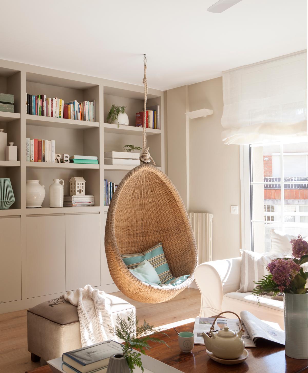 Muebles y complementos que se cuelgan - Sillas colgantes del techo ...