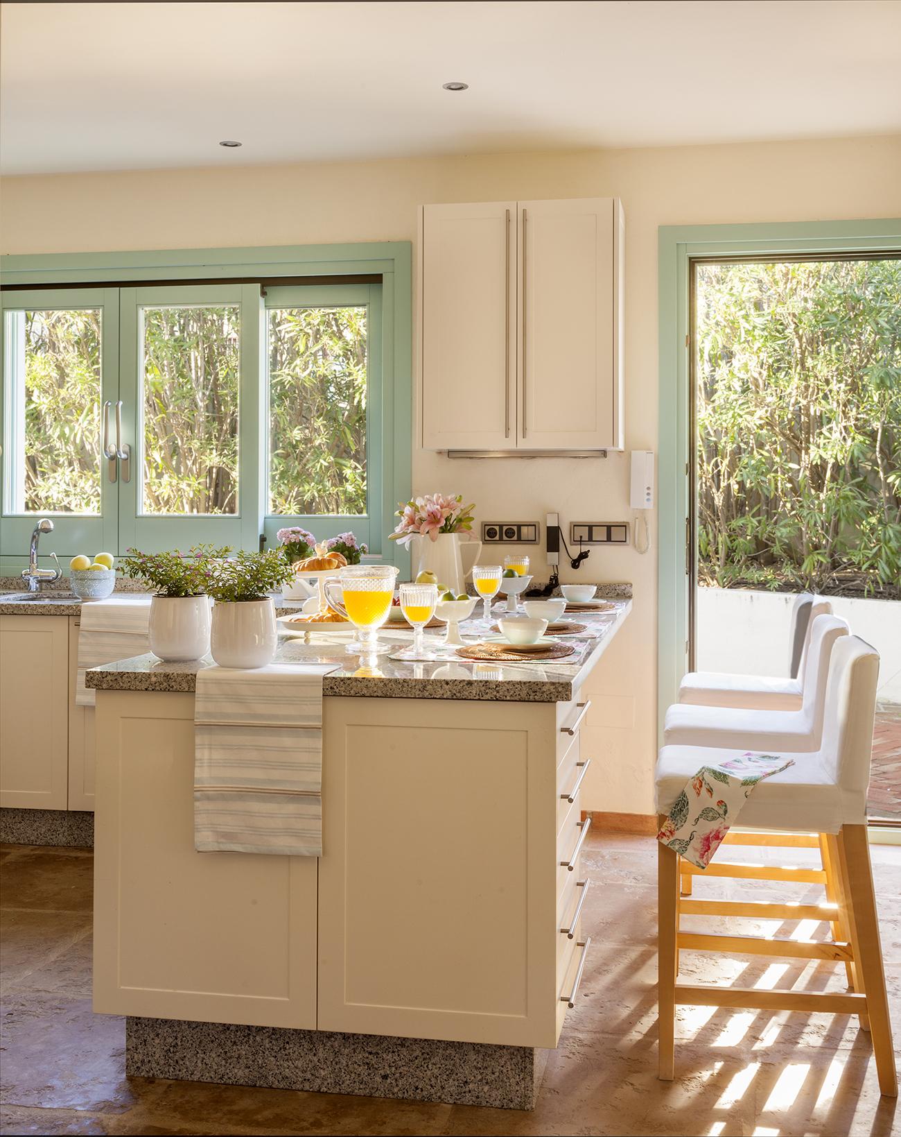 Encimeras de granito gama de colores finest finest for Encimera cocina granito precio