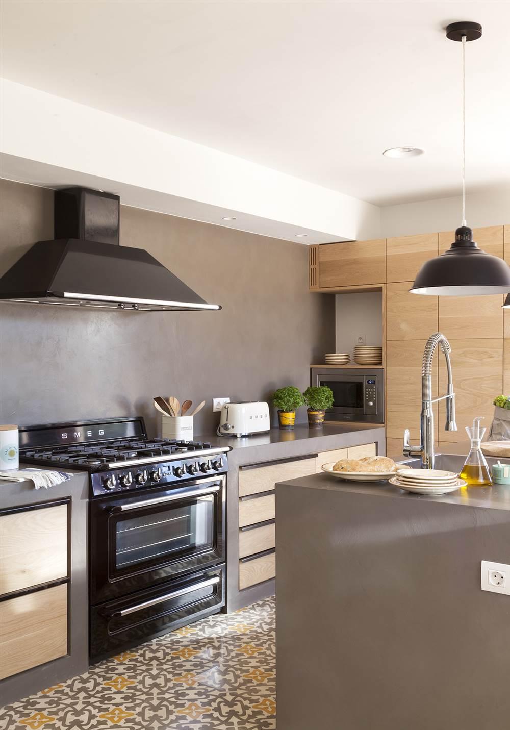 Formas De Microcemento En Cocinas Fotos De Casa Ideas