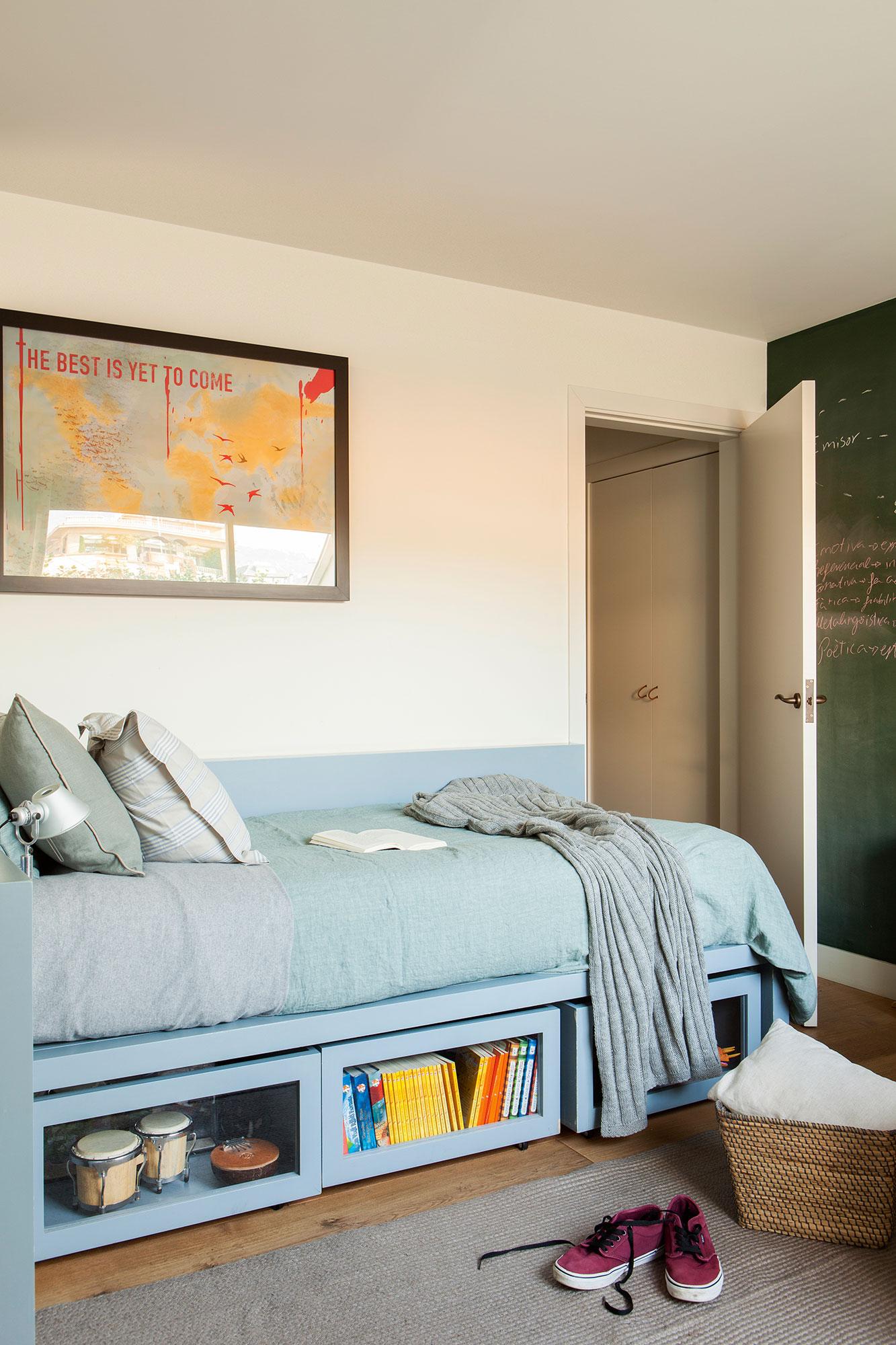 Cajones c mo mantener el orden en casa for Dormitorio juvenil tres camas