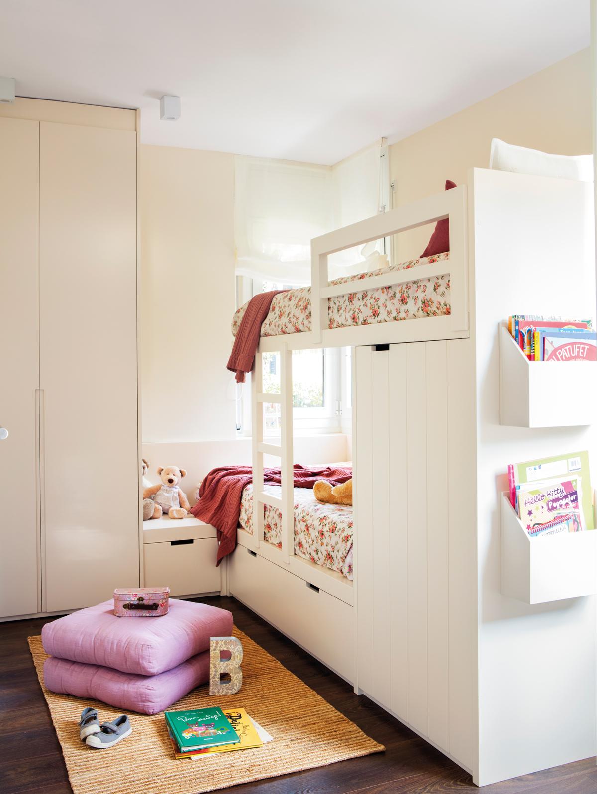 Soluciones para cuartos de ni os peque os - Armarios para almacenaje ...