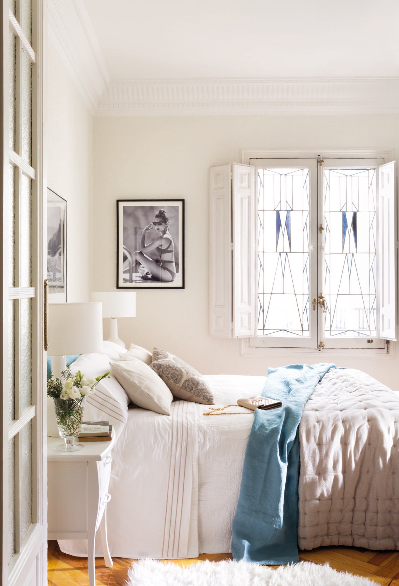 En casa de monimoleskine - Dormitorios con muebles blancos ...