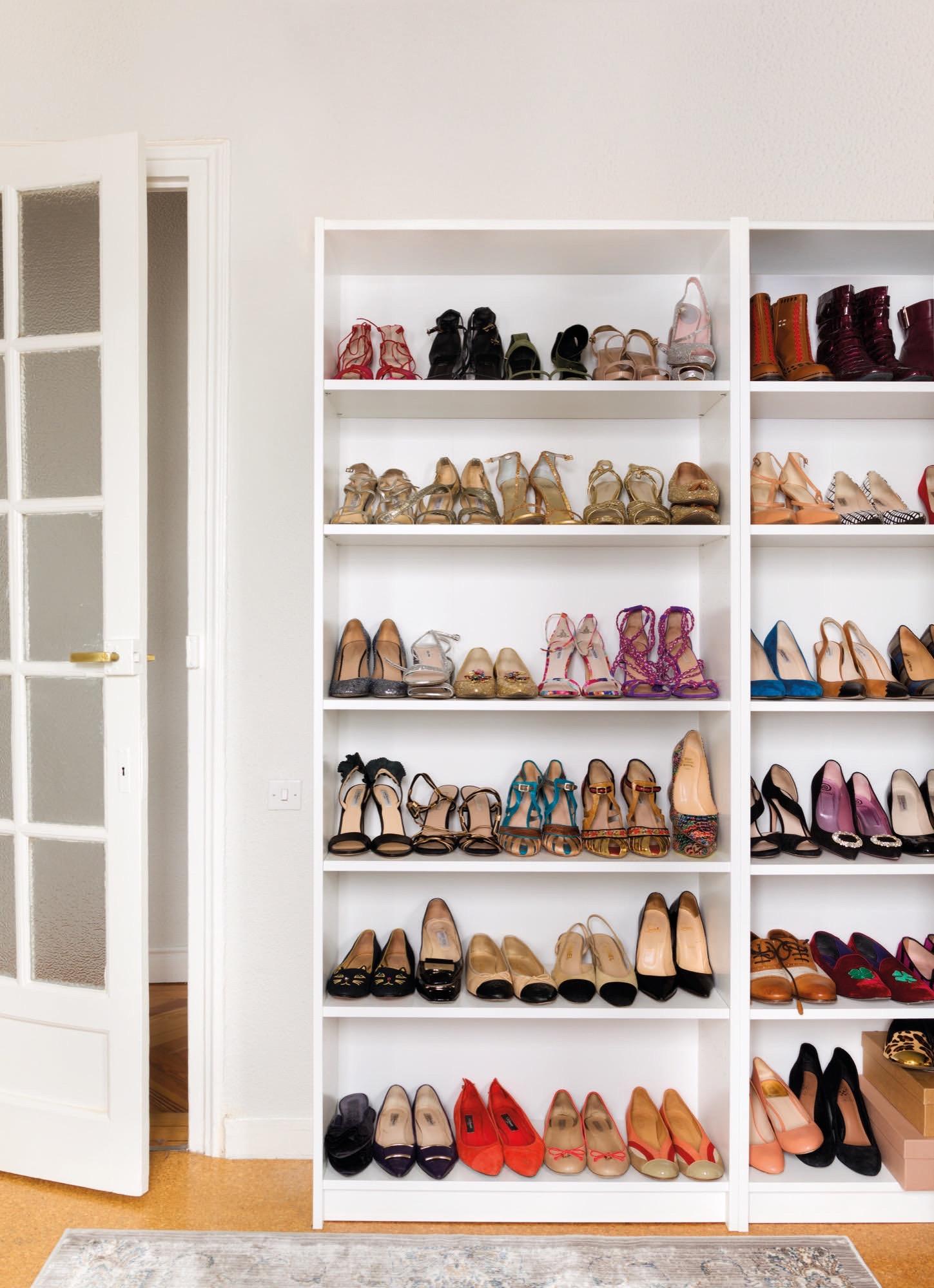 En casa de monimoleskine - Armarios para zapatos ...