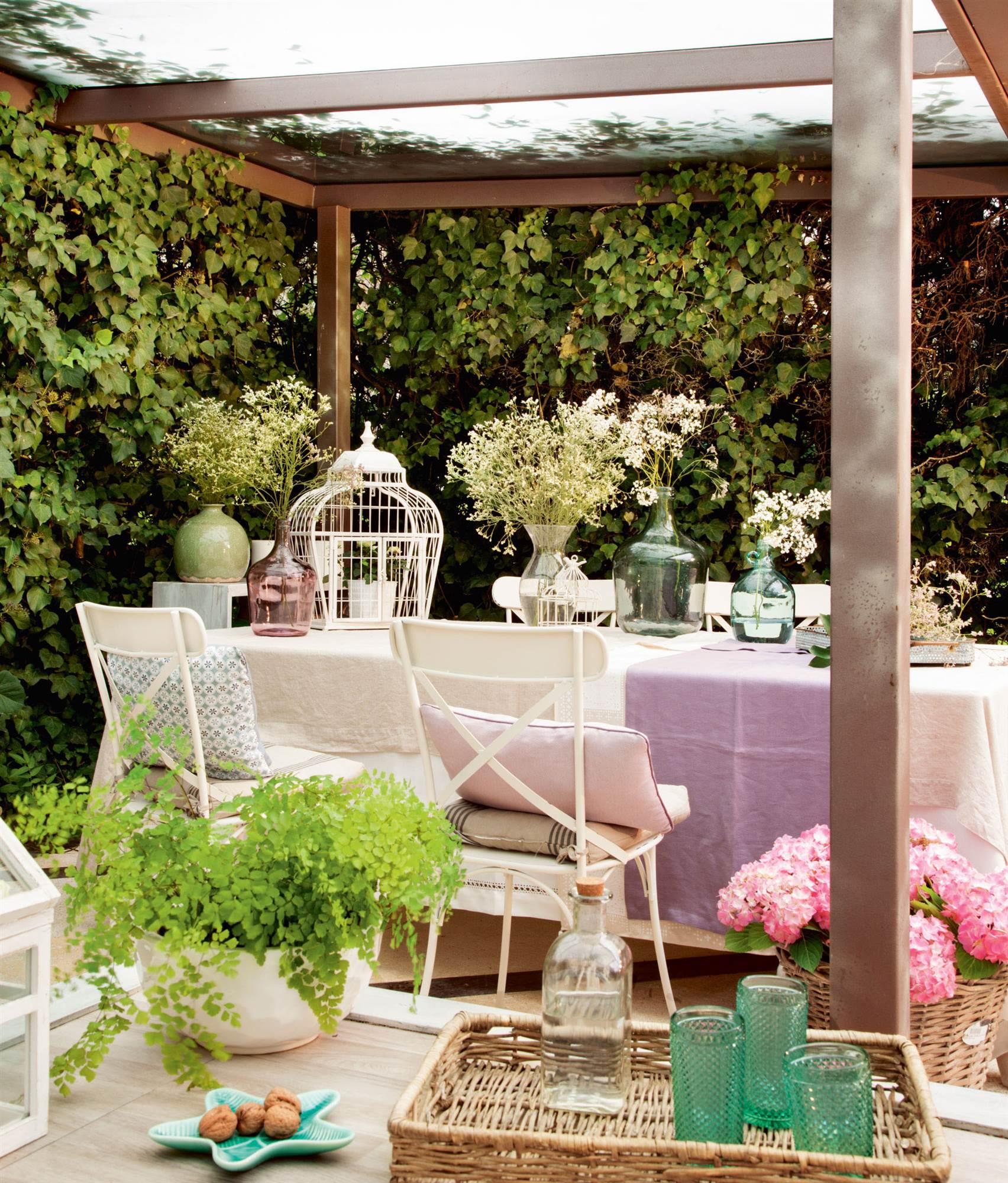 La terraza ideal para cada tipo de persona for Jardines romanticos