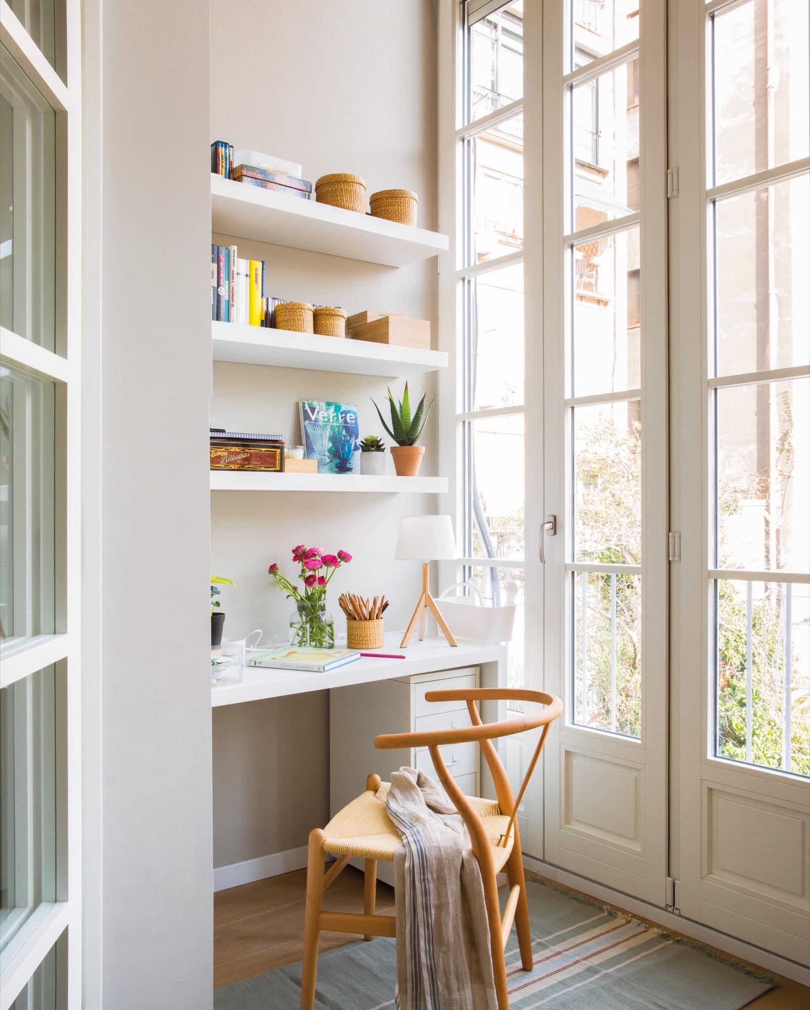 Un Piso Peque O Y Muy Primaveral # Muebles Cuanta Razon