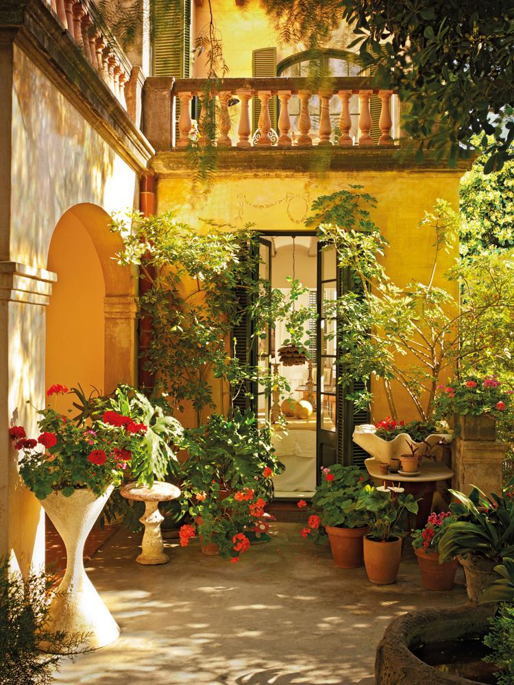 43 fotos de patios for Patios con plantas