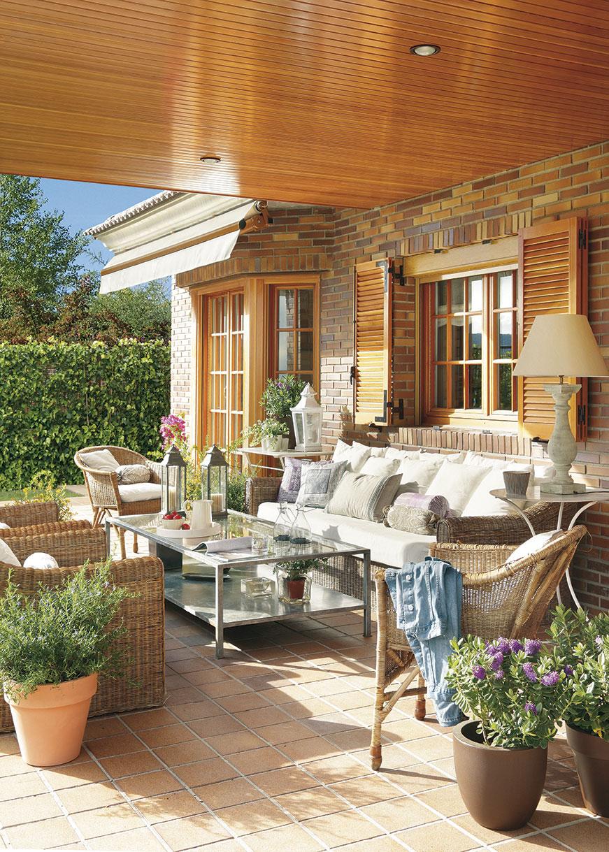 Preparar la terraza para el verano - Limpiar piedra artificial ...