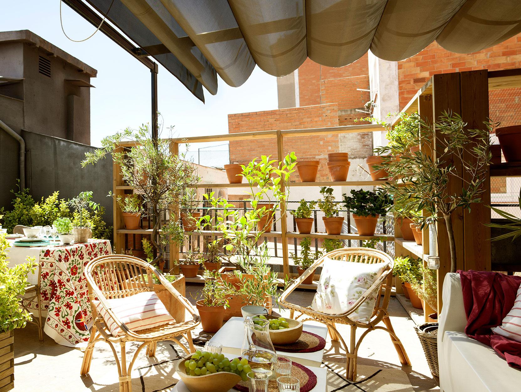 preparar la terraza para el verano