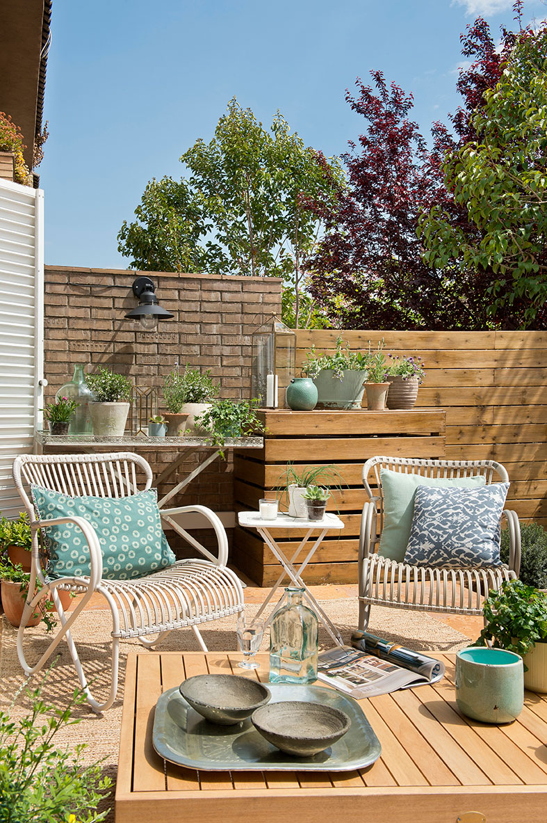Preparar la terraza para el verano for Tipos de toldos para terrazas