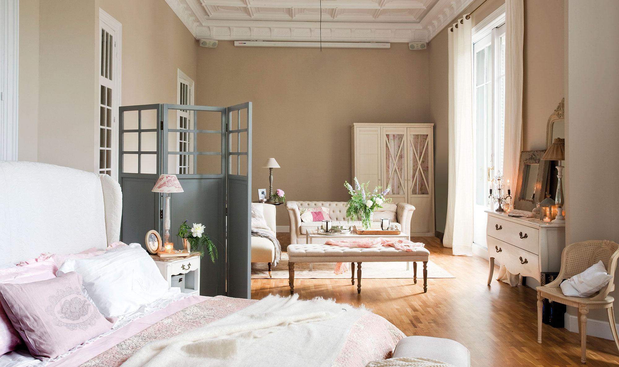 Zonas Dormitorio ~ Lofts ideas para organizar espacios diáfanos
