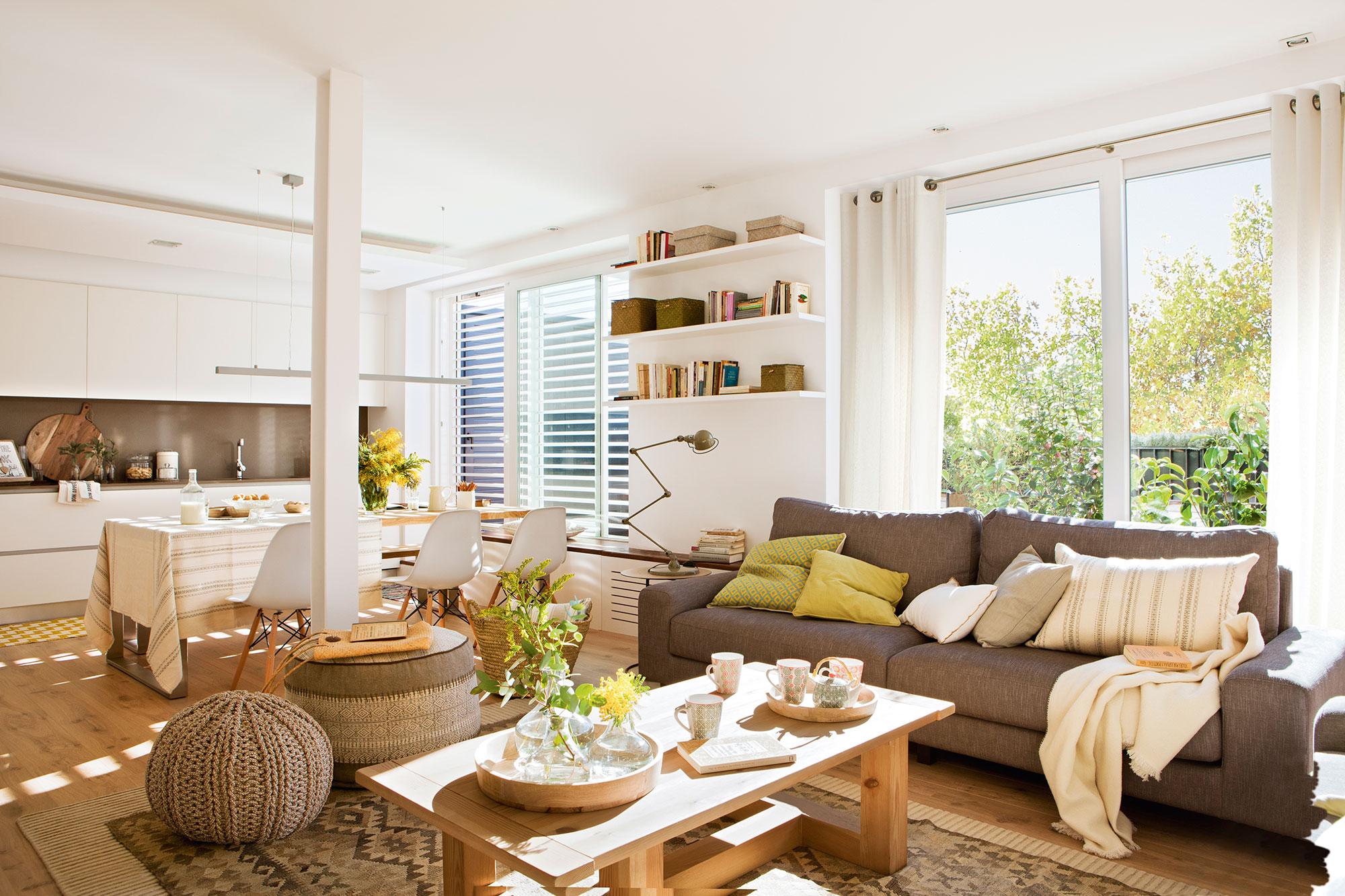 Lofts ideas para organizar espacios di fanos for Ideas para salon comedor