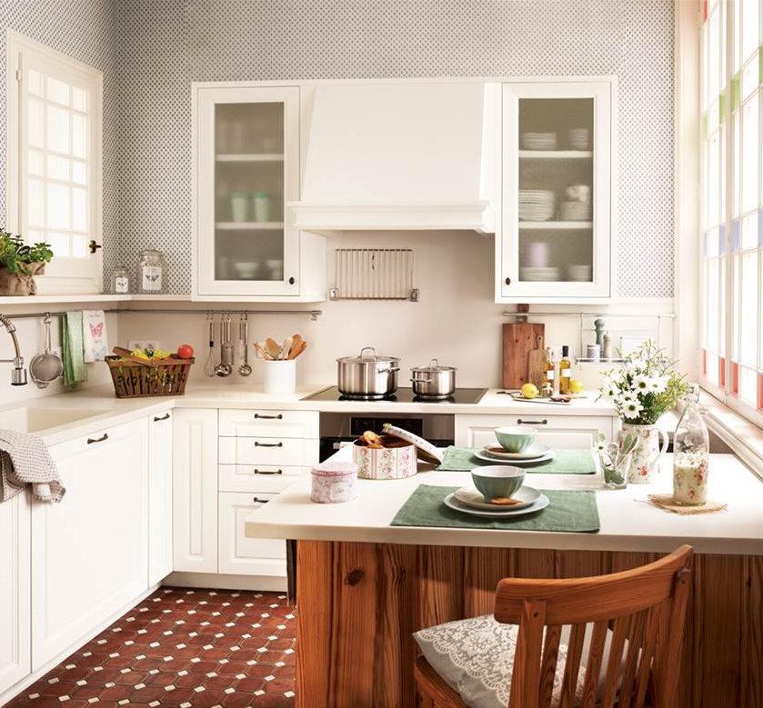 Reformar la cocina de low cost a presupuestos de 3000 euros for Muebles bano rusticos ikea
