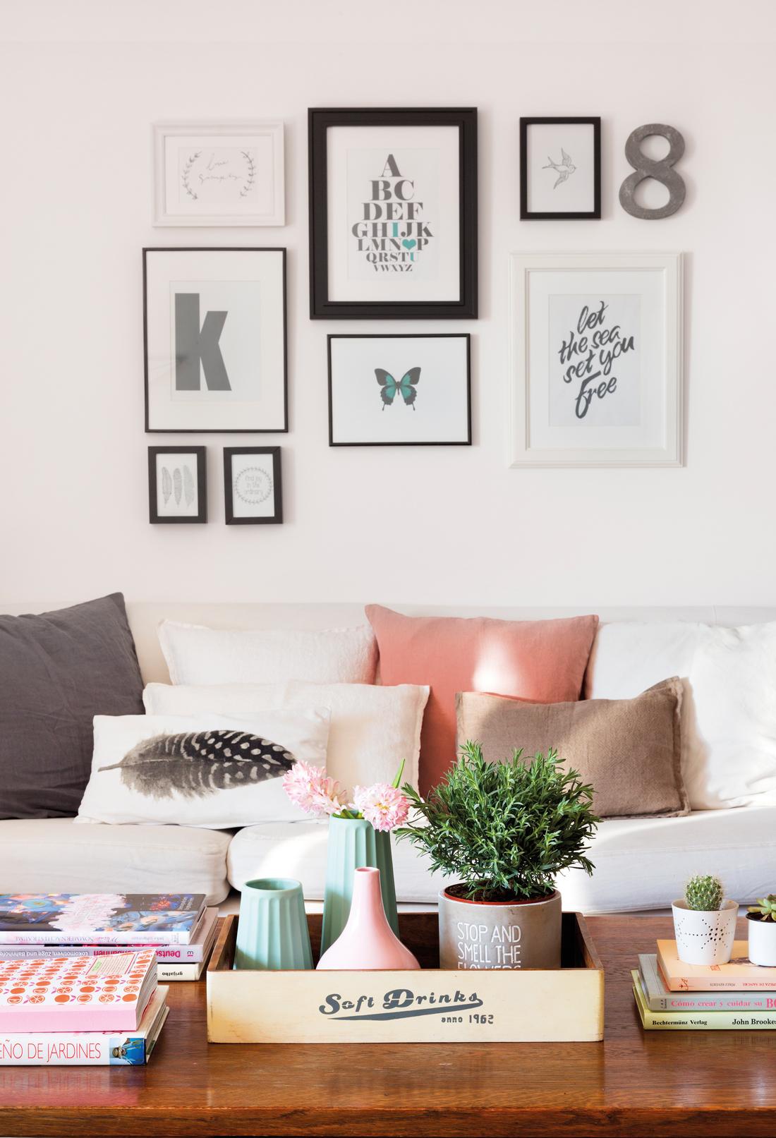 10 cosas para hacer en casa en 30 minutos for Decoracion paredes salon
