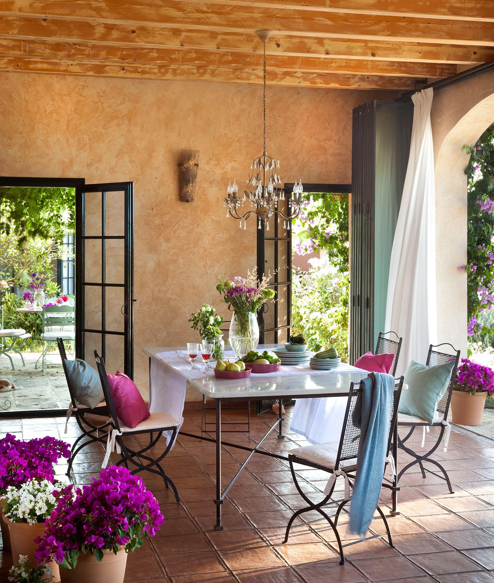 Sillas for Mesa porche