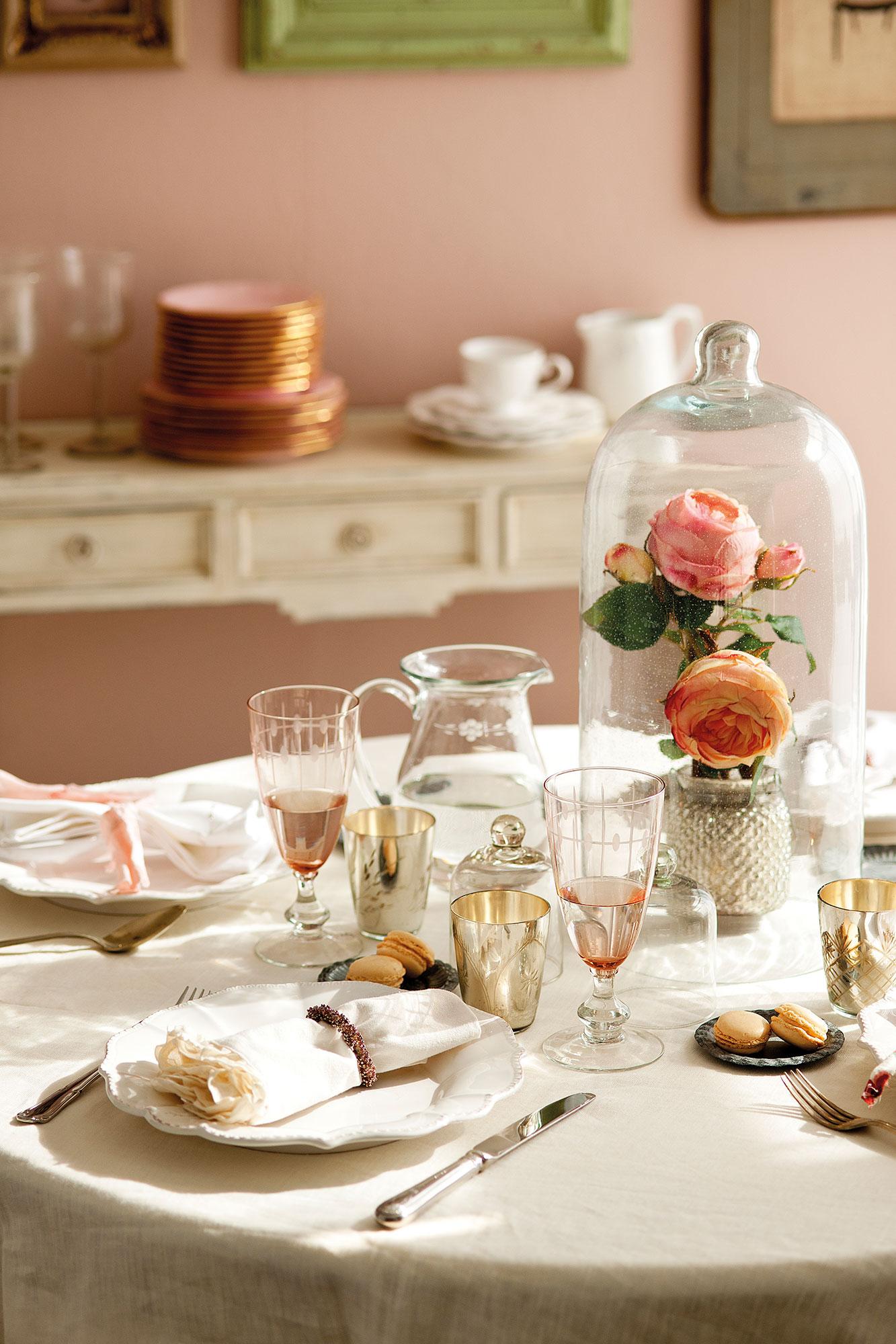 14 looks para vestir la mesa de primavera - Decorar office cocina ...