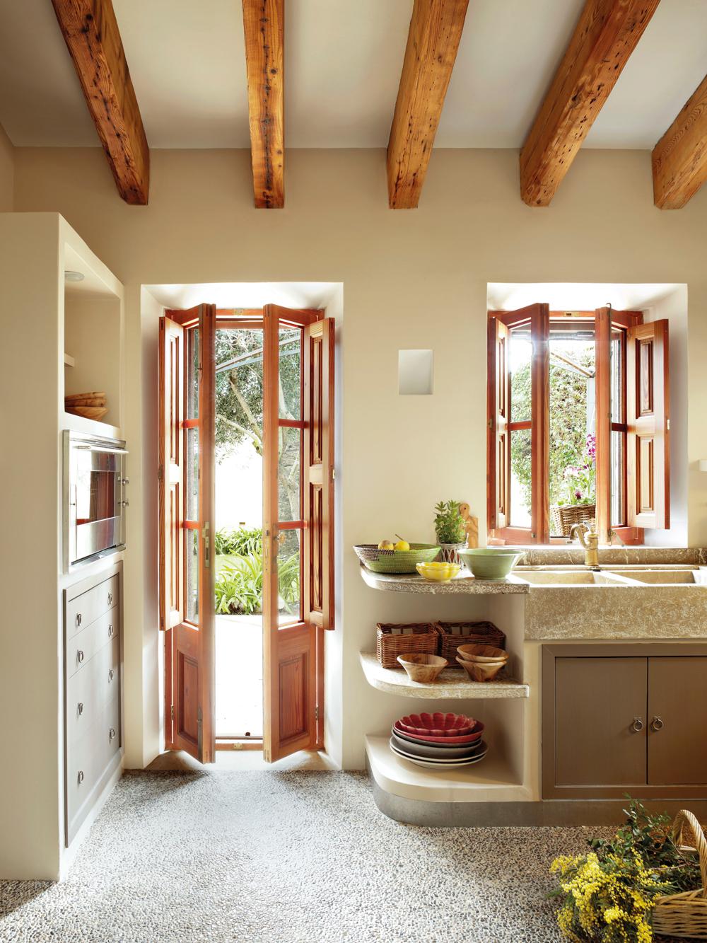 Qu es la decoraci n wabi sabi - Muebles de cocina de obra ...