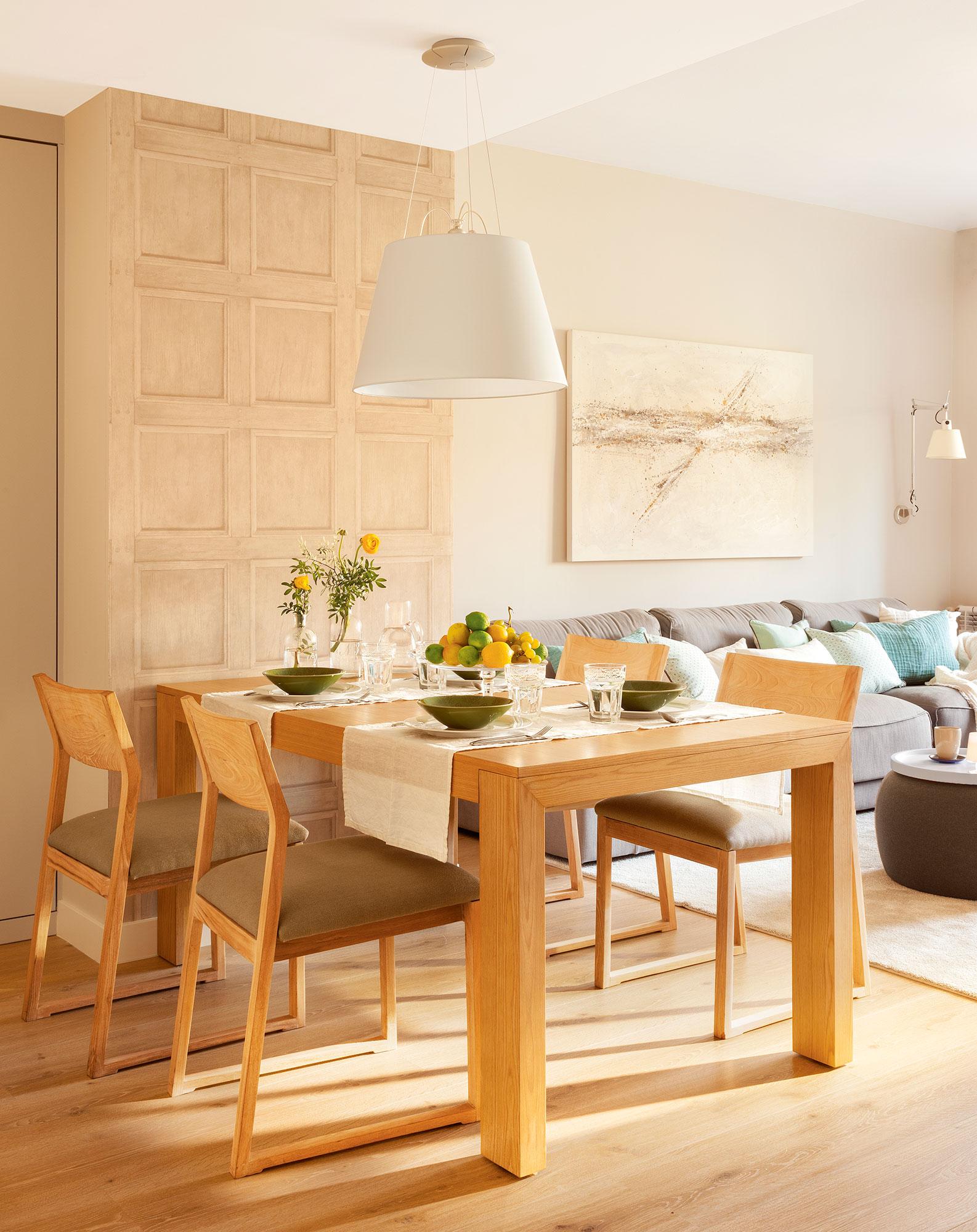 Mesas de comedor c mo elegir tu mesa de comedor perfecta - Mesa salon madera ...