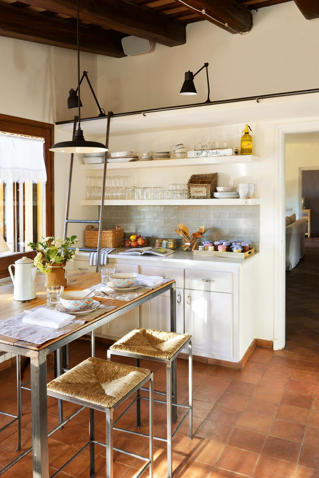 Un office ideal en la cocina for Cocina ideal