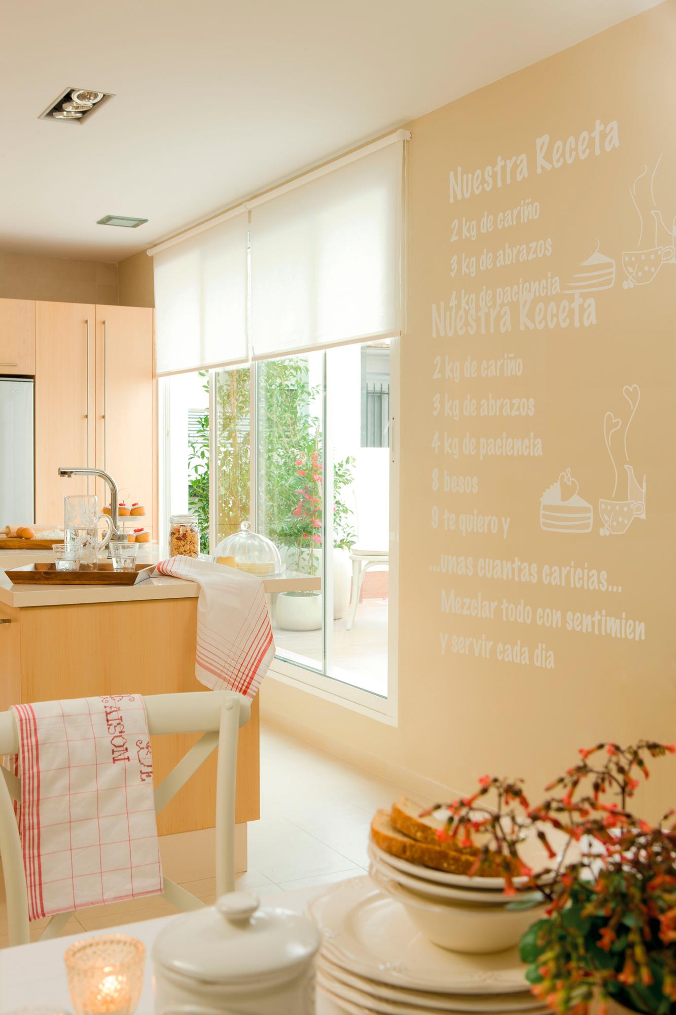 699 fotos de muebles de cocina for Paredes de cocina decoradas