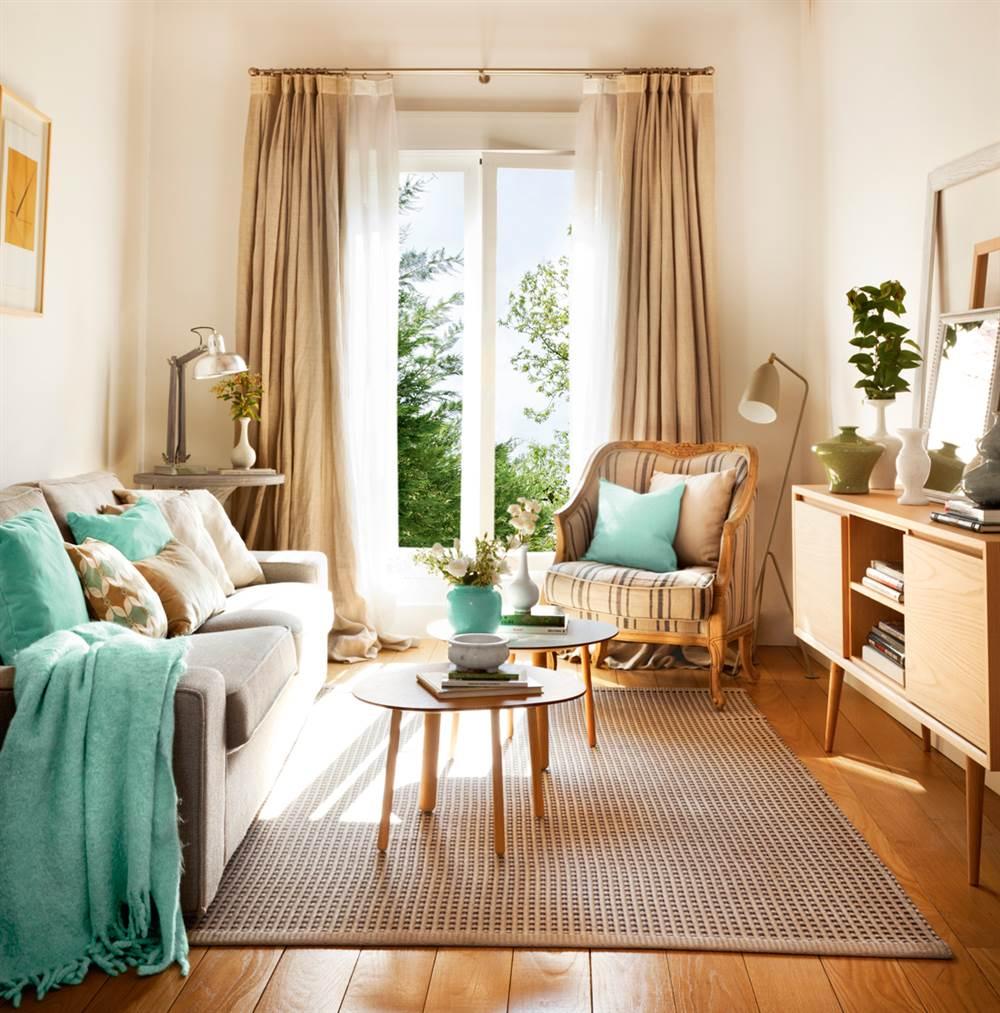 Claves decorativas para tu primera casa - Decorar muebles con tela ...