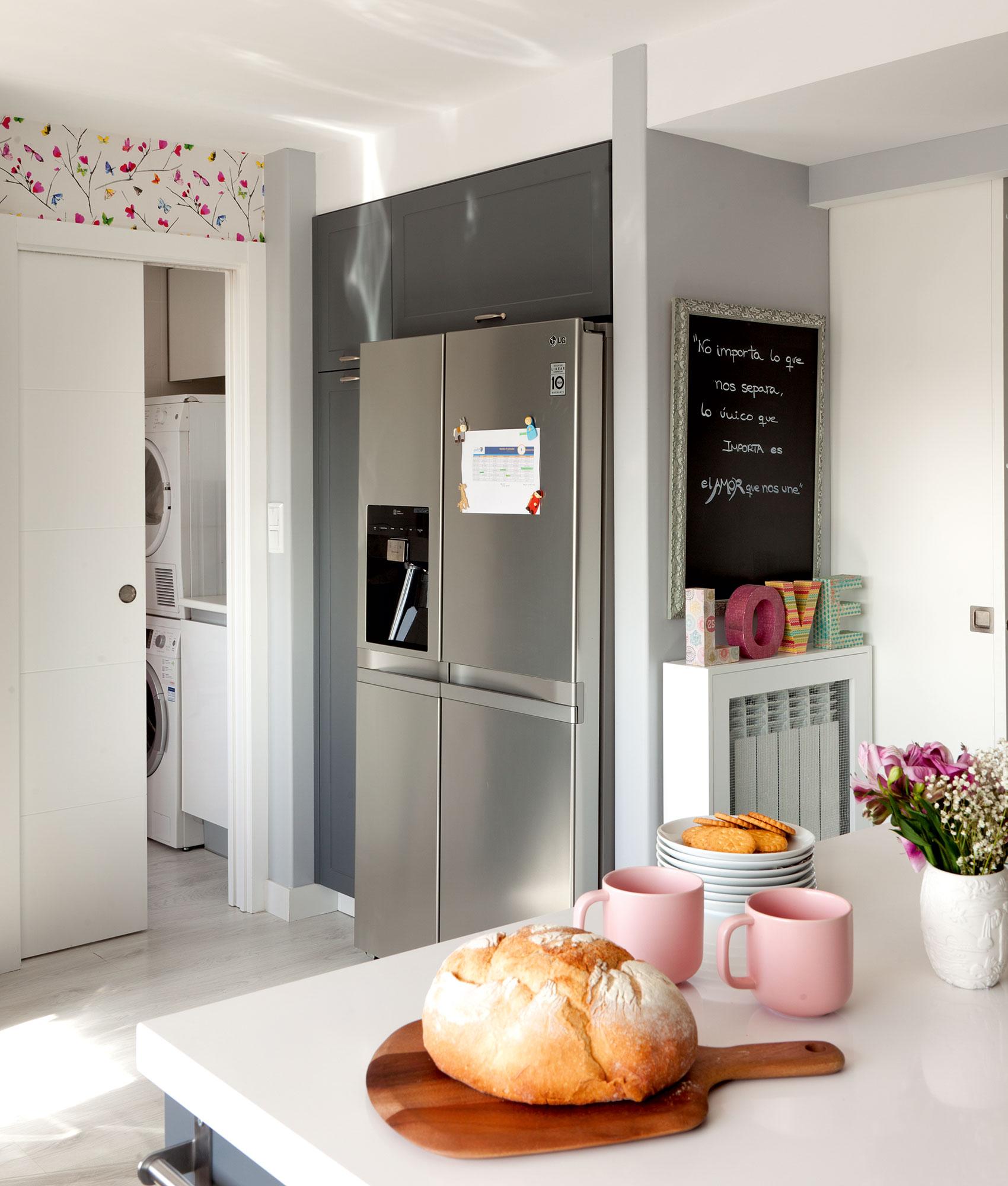 D nde poner la lavadora en casa for Lavatorio cocina