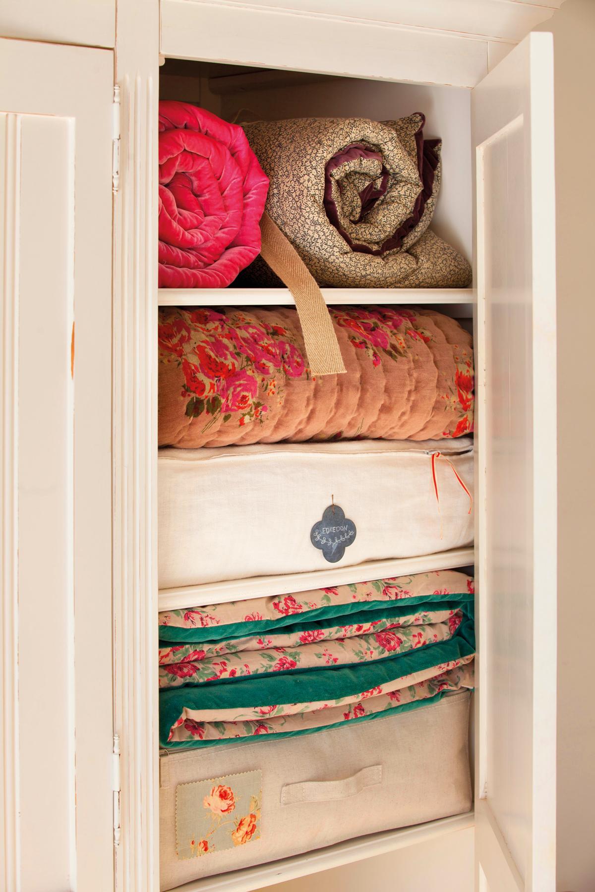 Cambio de armario c mo guardar la ropa de invierno - Armario ropa blanca ...