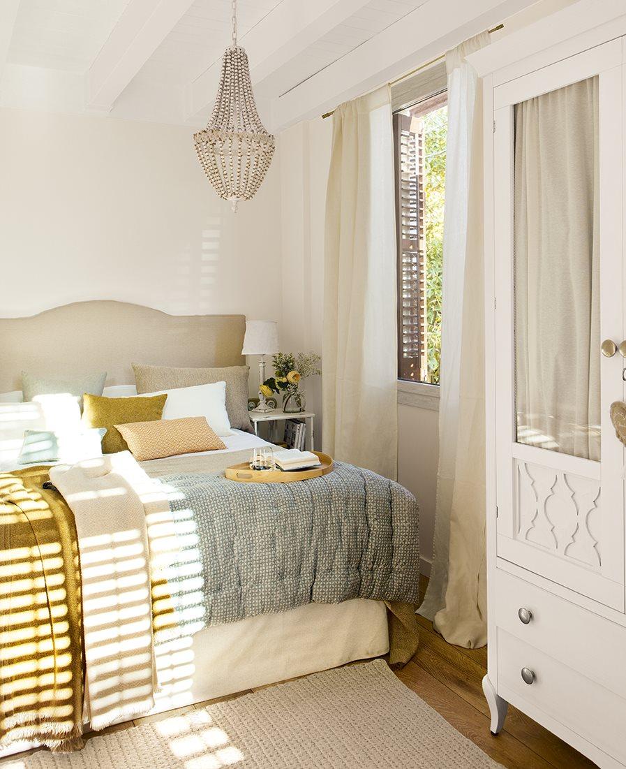 Grandes ideas para los dormitorios peque os m s bonitos for Ideas de decoracion de interiores pequenos