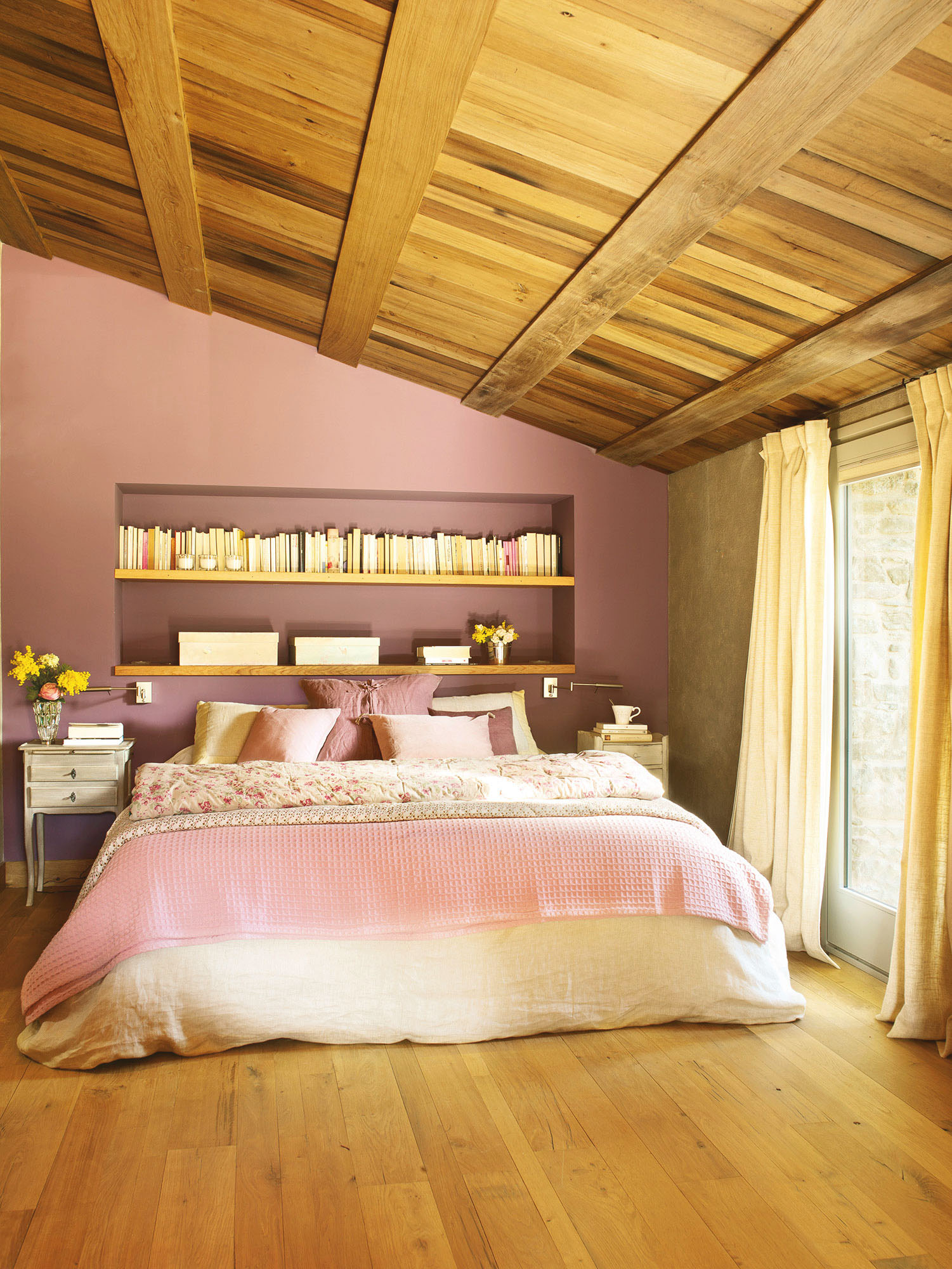 Millennial pink 10 razones para enamorarse del color de - Paredes en madera ...