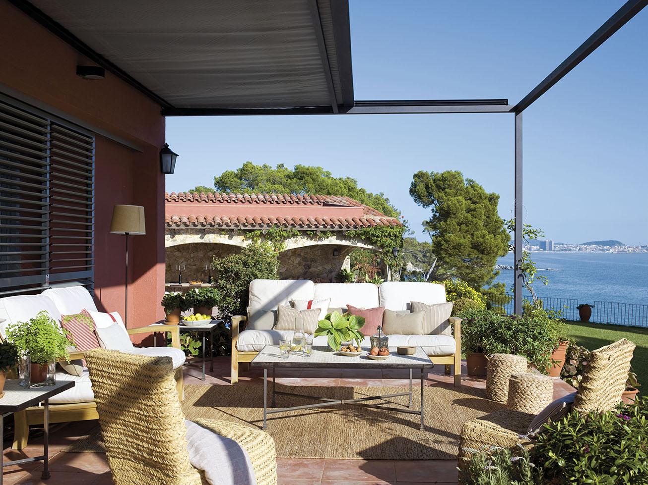 Salones exteriores for Muebles porche