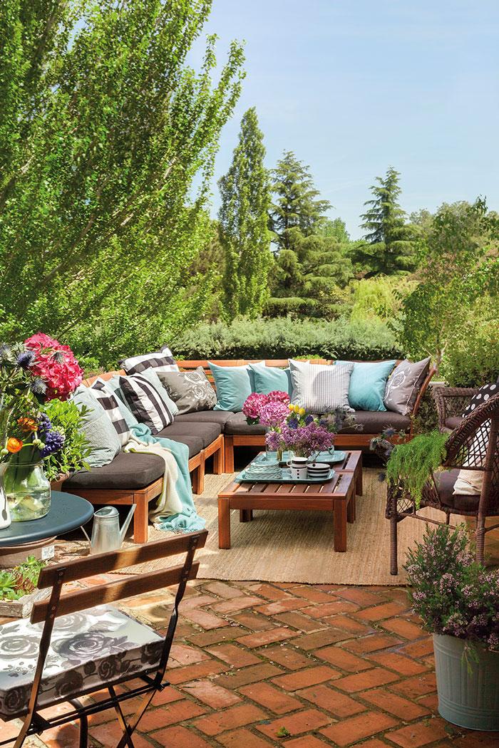 Elige los muebles de la terraza