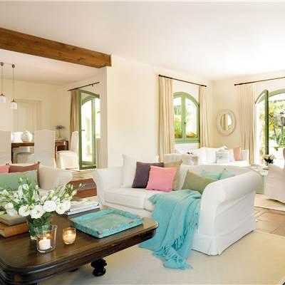 Mesas de centro for Casa blanca muebles y decoracion