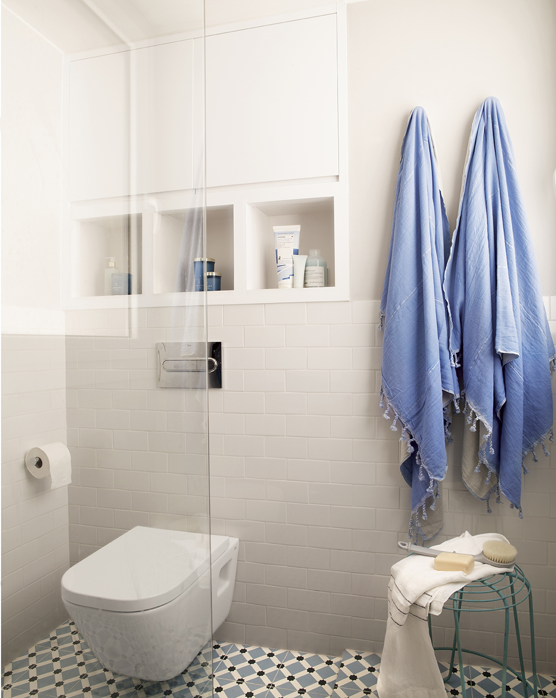 75 fotos de azulejos - Mueble encima wc ...