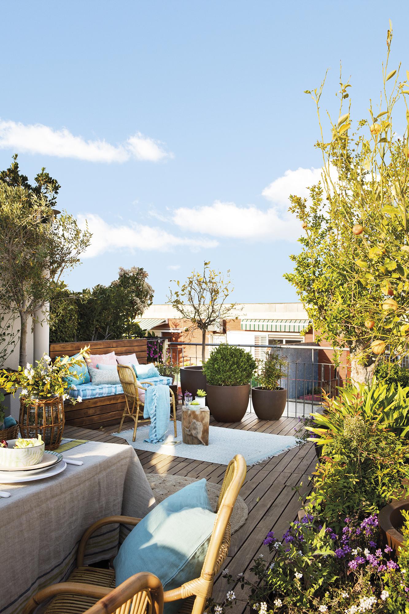 Tico en barcelona con terraza ajardinada - Atico terraza barcelona ...
