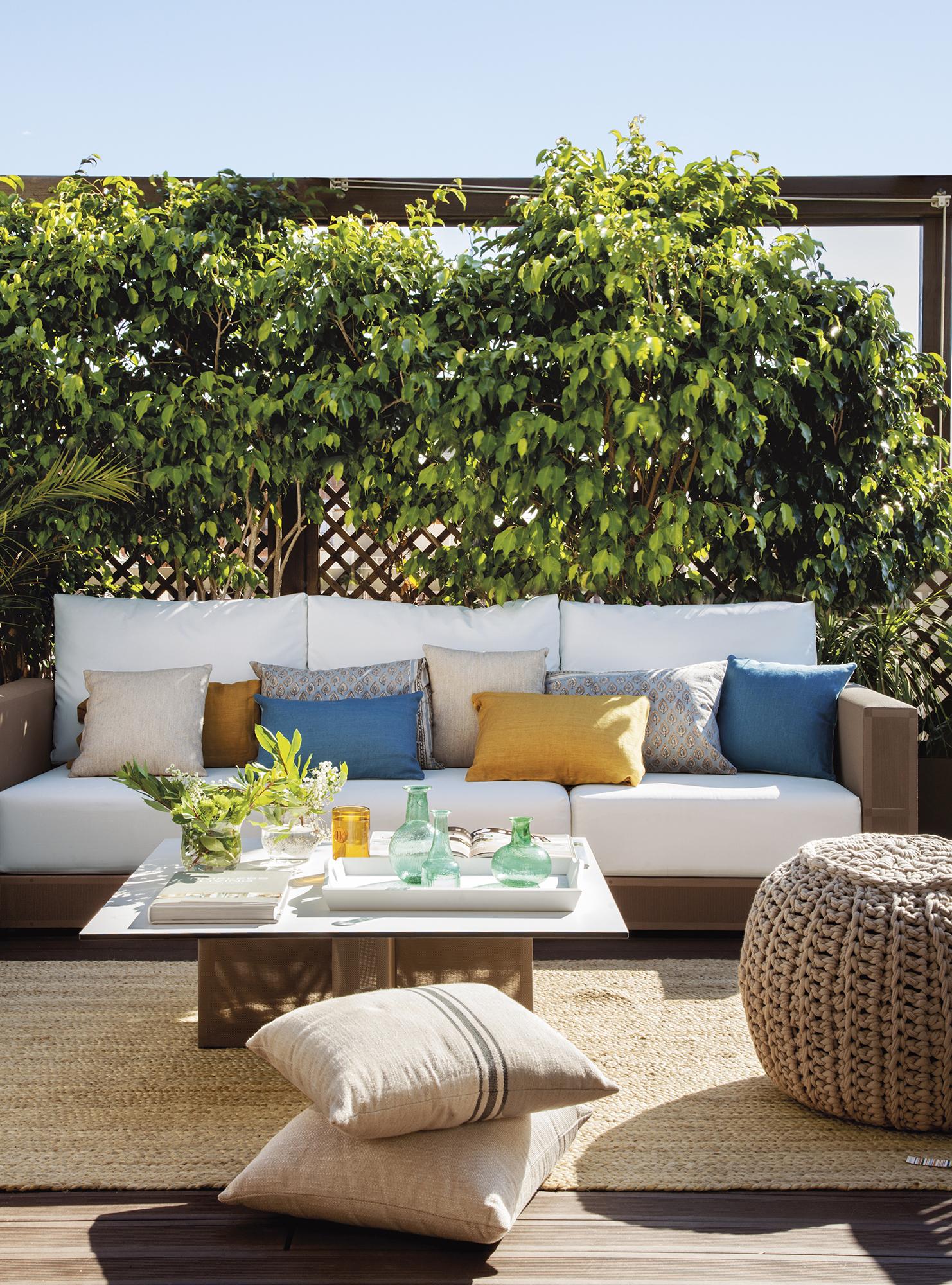 Cojines para palets ikea latest cojines para sofas - Cojines exterior carrefour ...