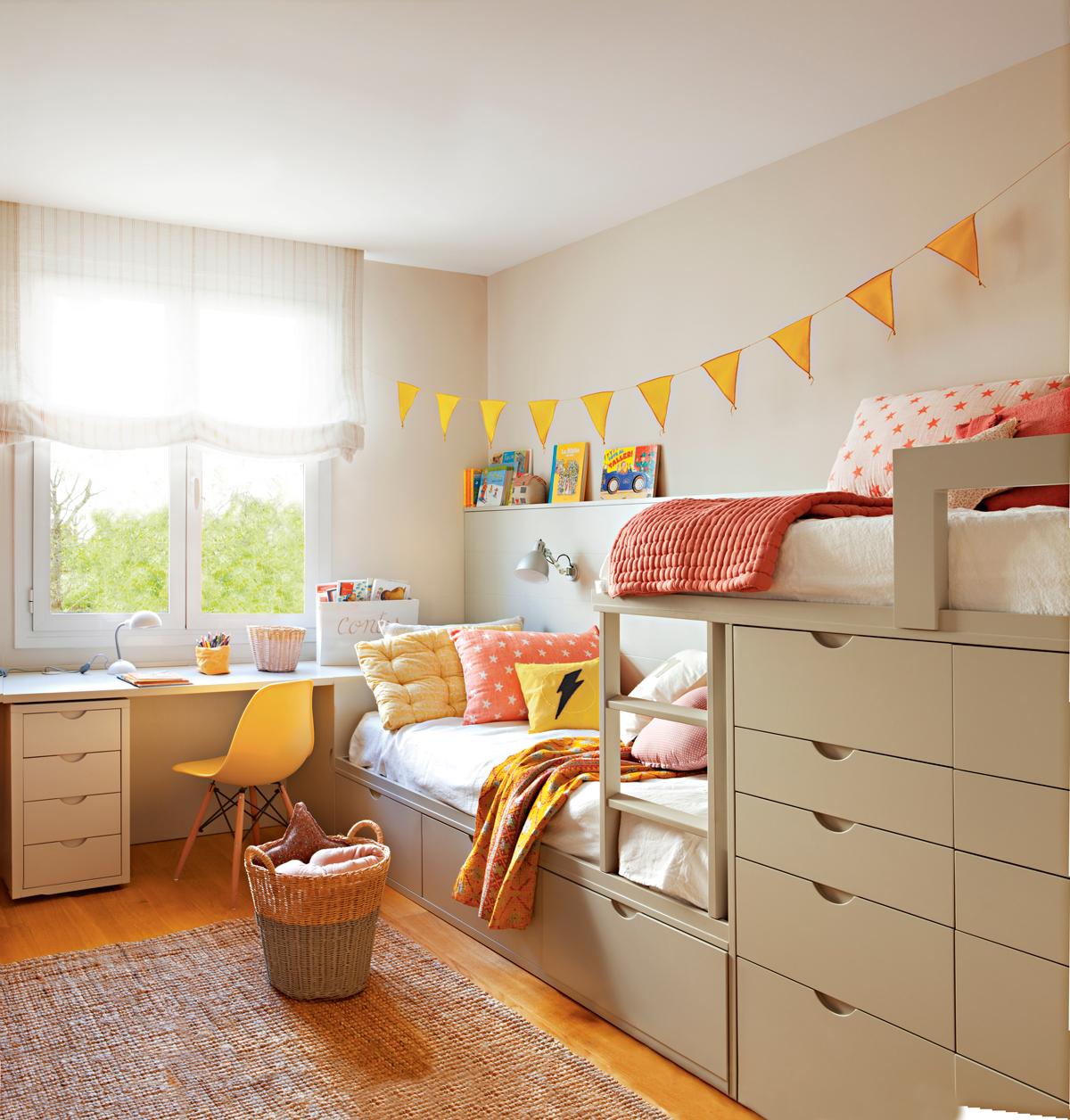 Literas De Dise O De El Mueble ~ Camas Infantiles Con Cajones Debajo
