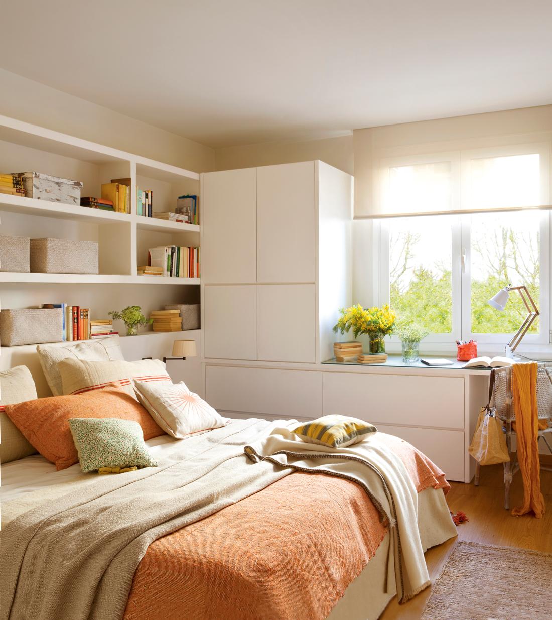 Muebles a medida: gana metros y almacén