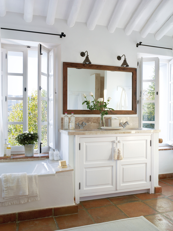 Muebles ba o decoraci n accesorios mamparas y azulejos for Banos modernos con banera