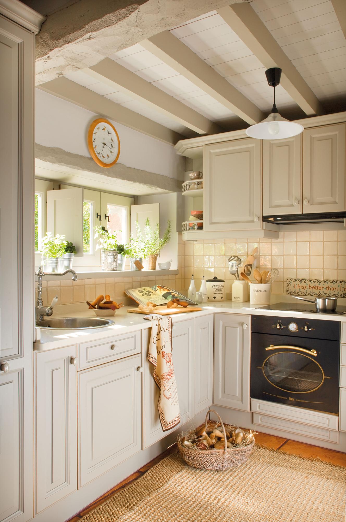 caminar en la cocina despensa ideas de diseño Cocinas Pequeas Distribuidas En L