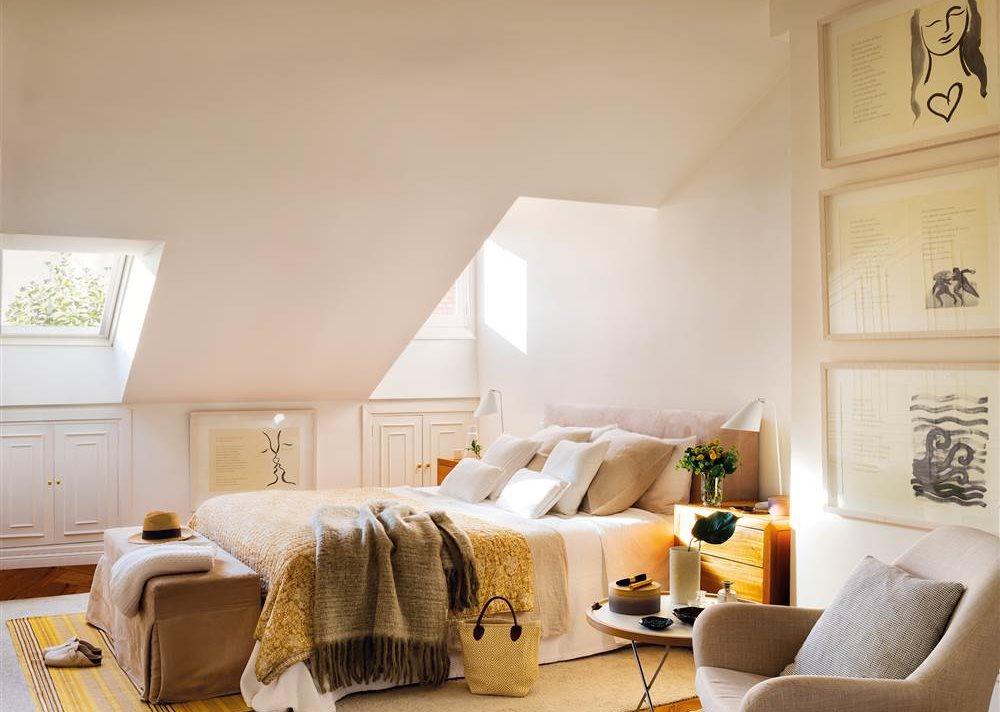 20 dormitorios de todos los estilos - Dormitorio en blanco ...
