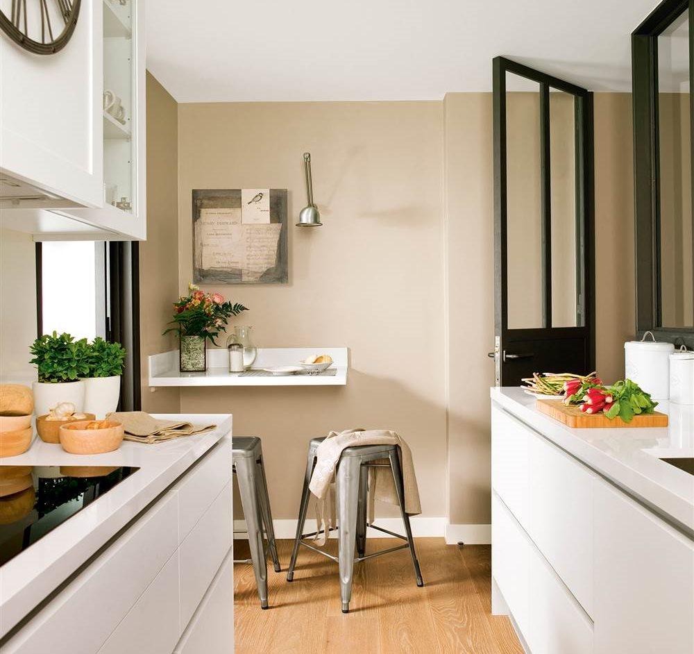 Cocinas peque as distribuidas en paralelo for Ver modelos de muebles de cocina