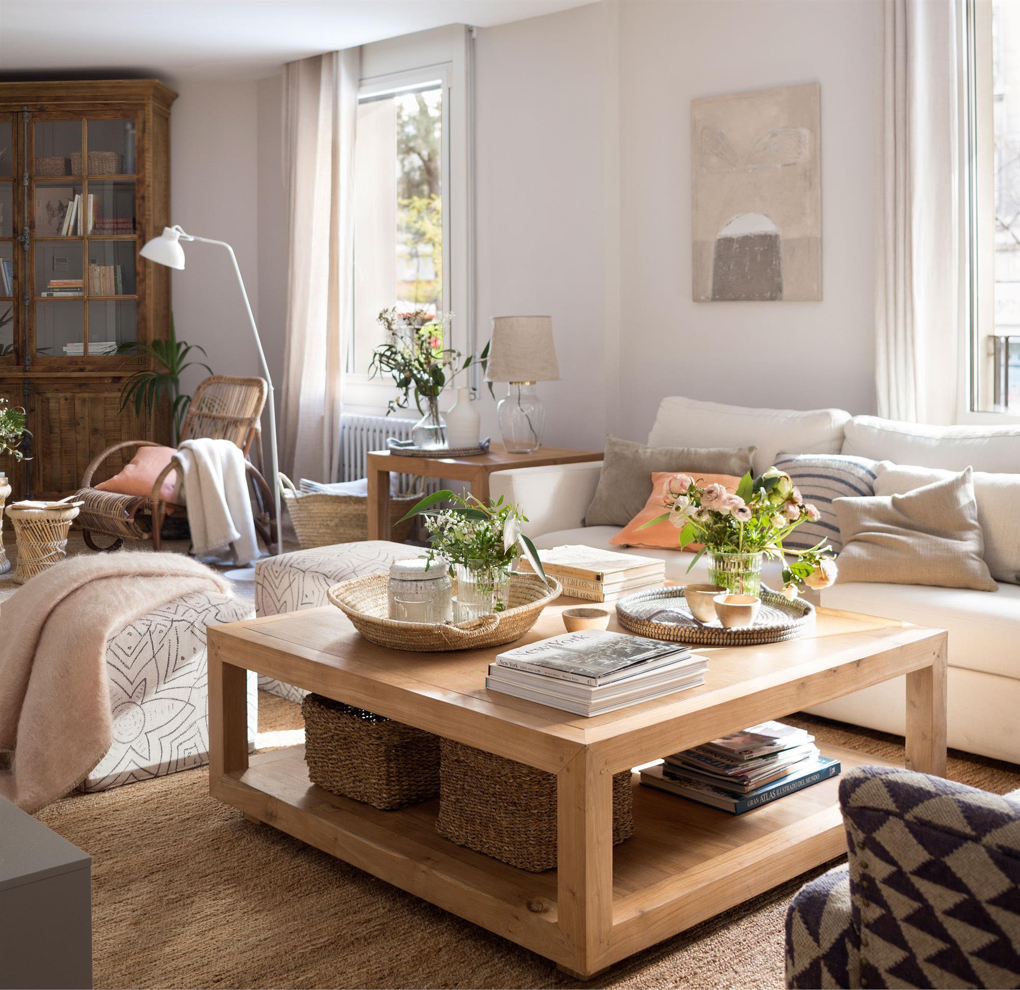 Mesas de centro galer a de fotos y modelos de mesas for Mesas de living