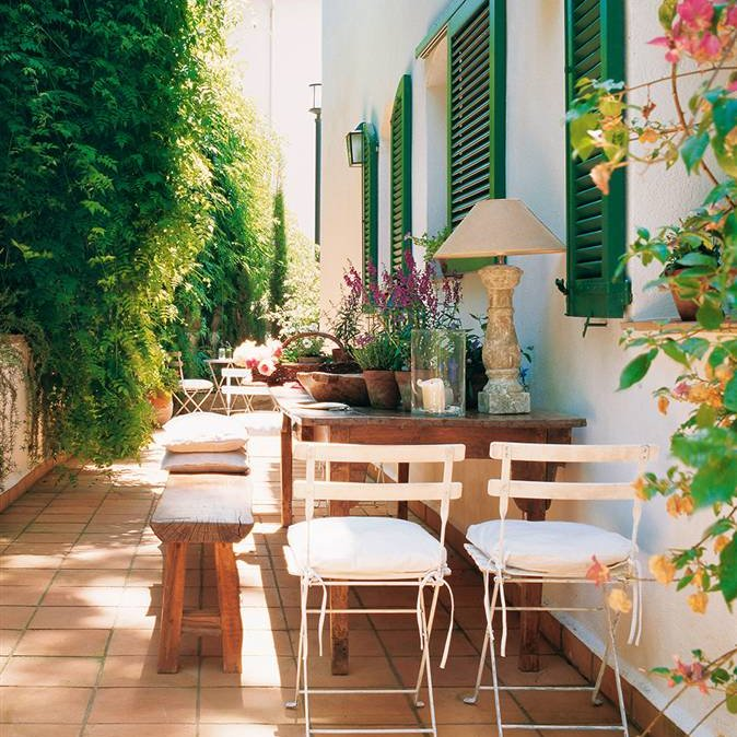 Consejos para poner a punto la terraza for Mesas plegables para terraza