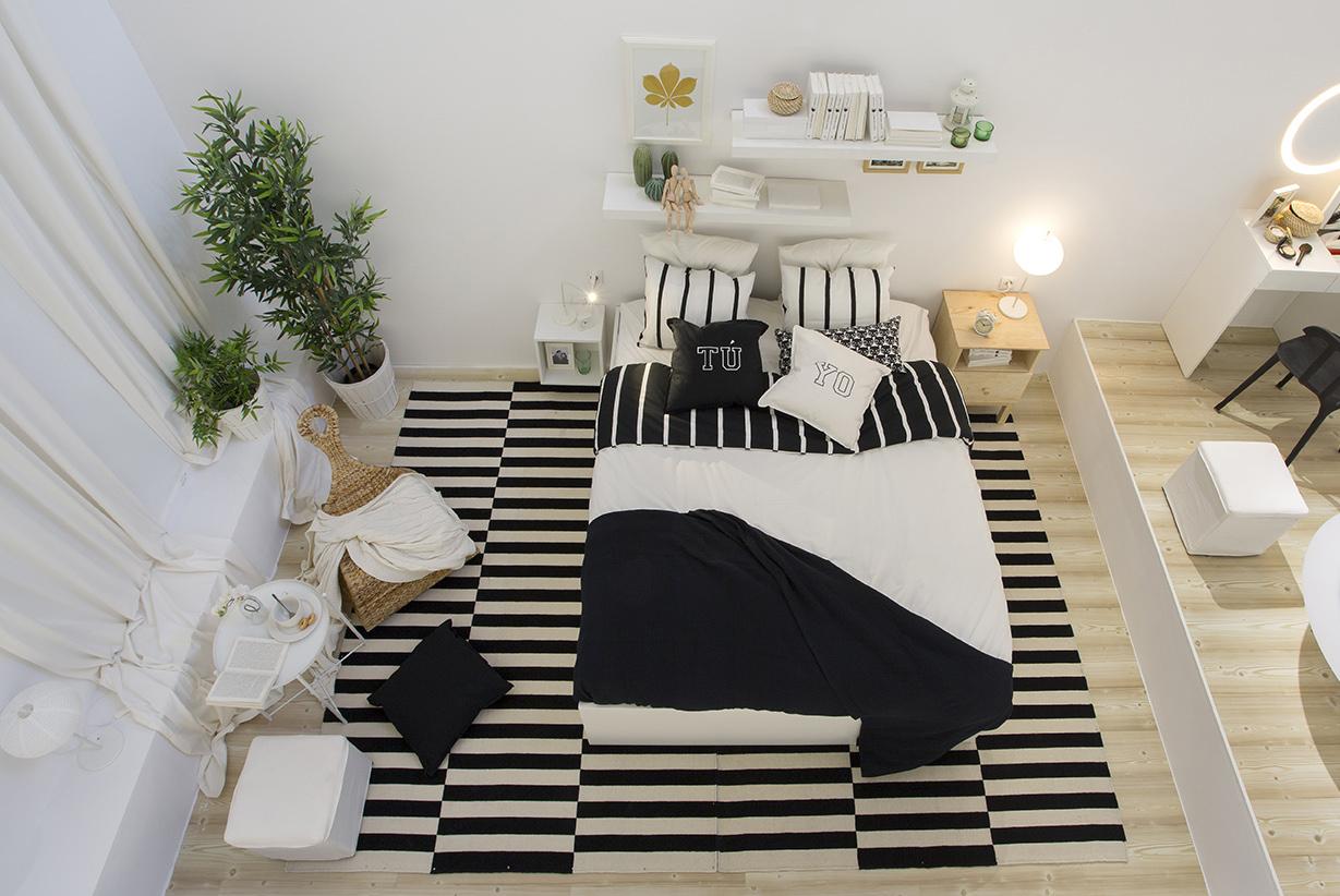 Ikea abre en madrid una tienda ef mera dedicada al dormitorio for Dormitorio ikea blanco