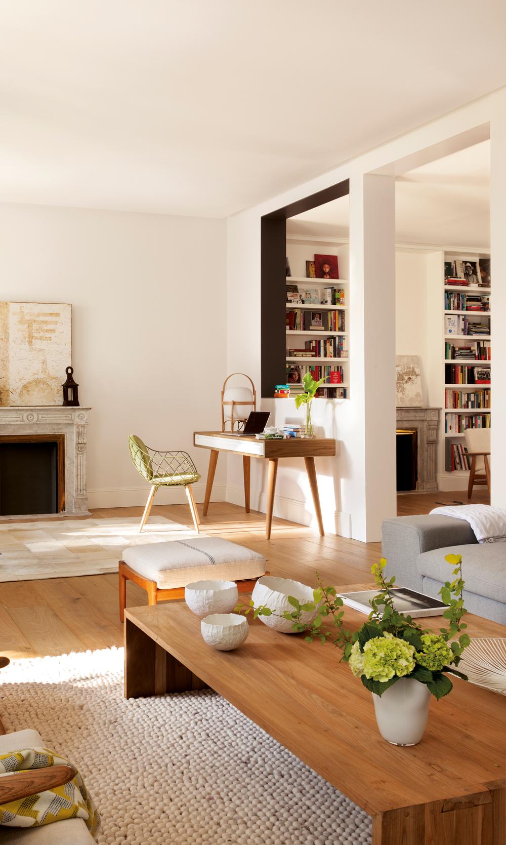 Ideas para trabajar mejor desde casa - Escritorio salon ...