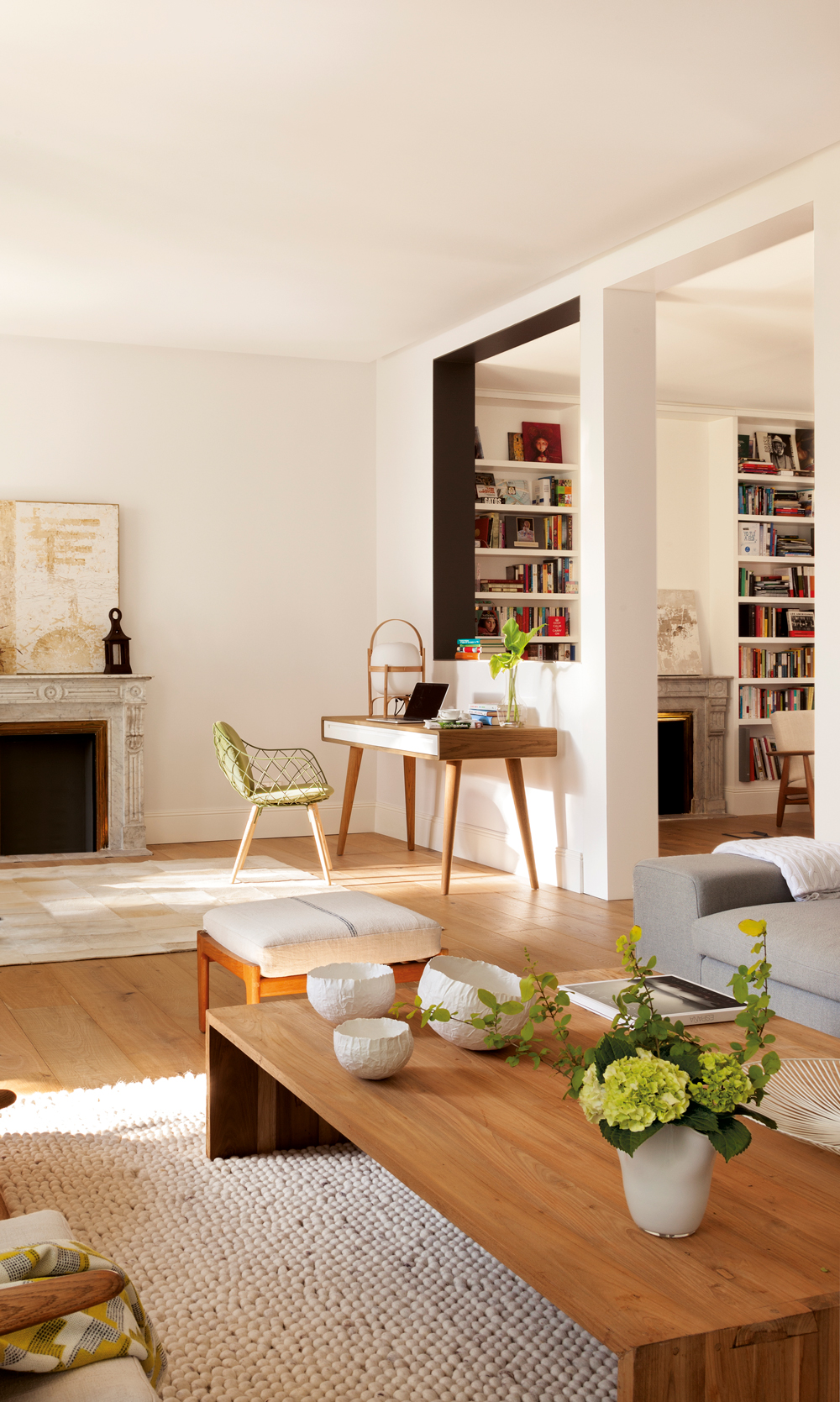 Ideas para trabajar mejor desde casa for Escritorios para salon