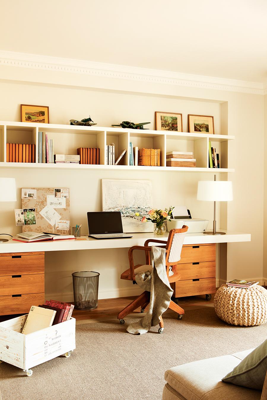 Ideas para trabajar mejor desde casa for La casa de las cajoneras