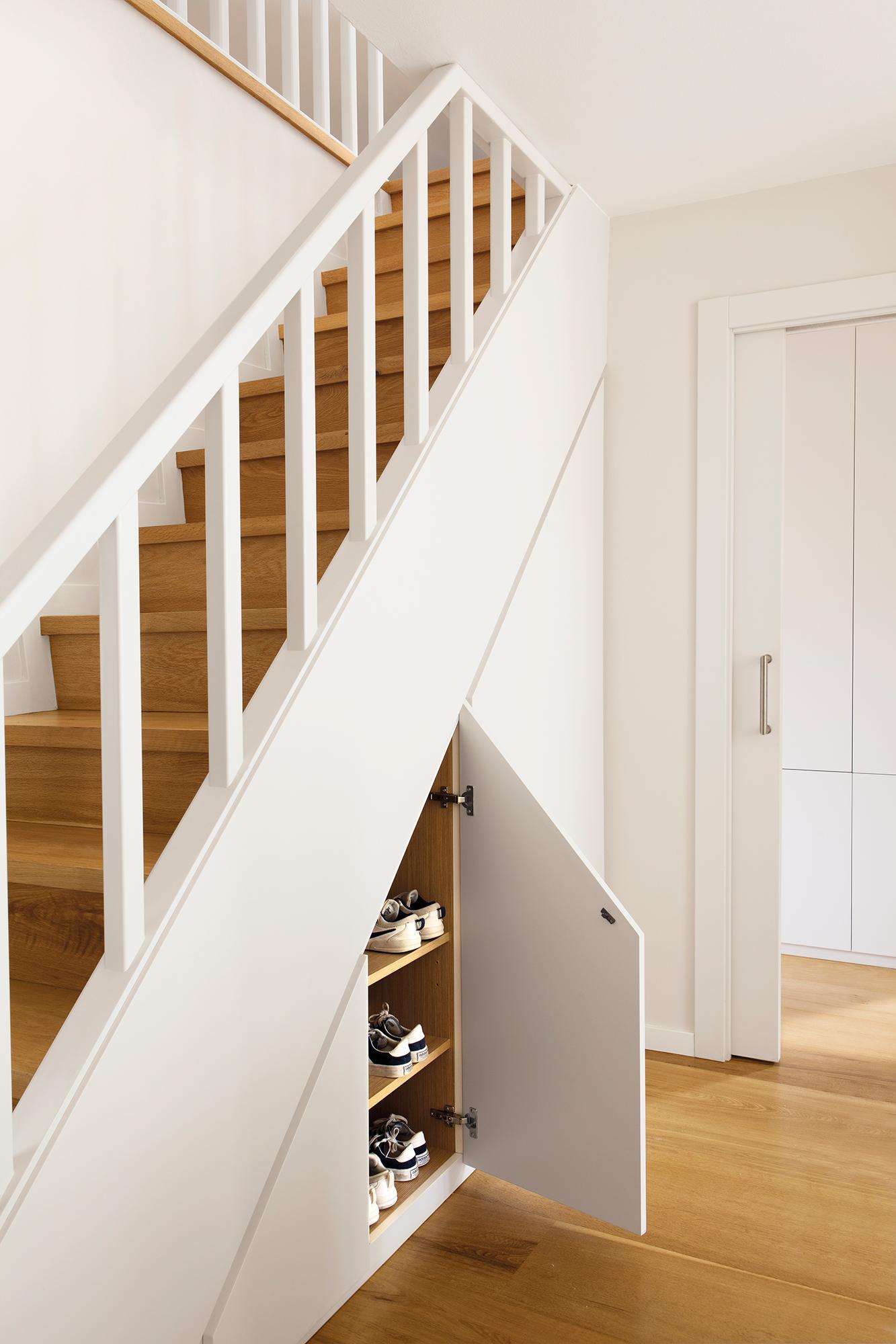 Escaleras c mo planificarlas con acierto - Escaleras de peldanos ...