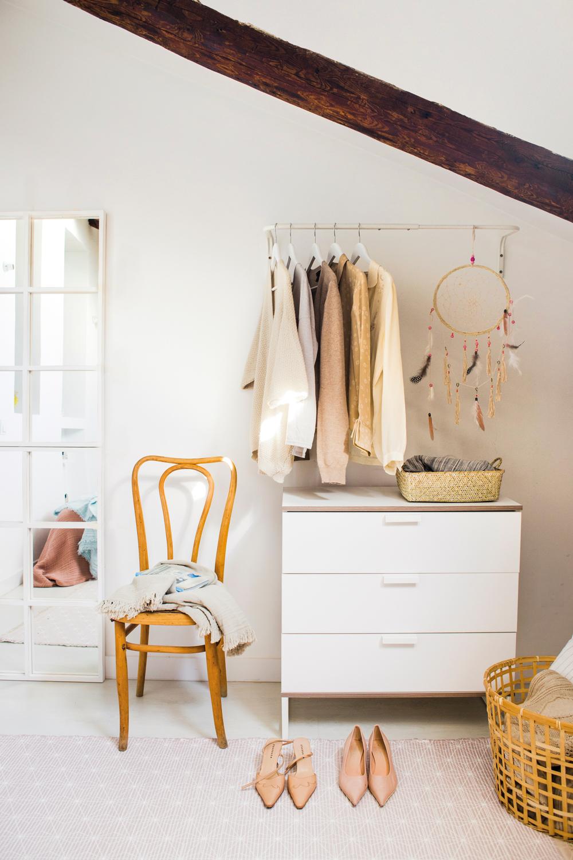 10 trucos para ordenar tu primera casa - Comoda con espejo ...