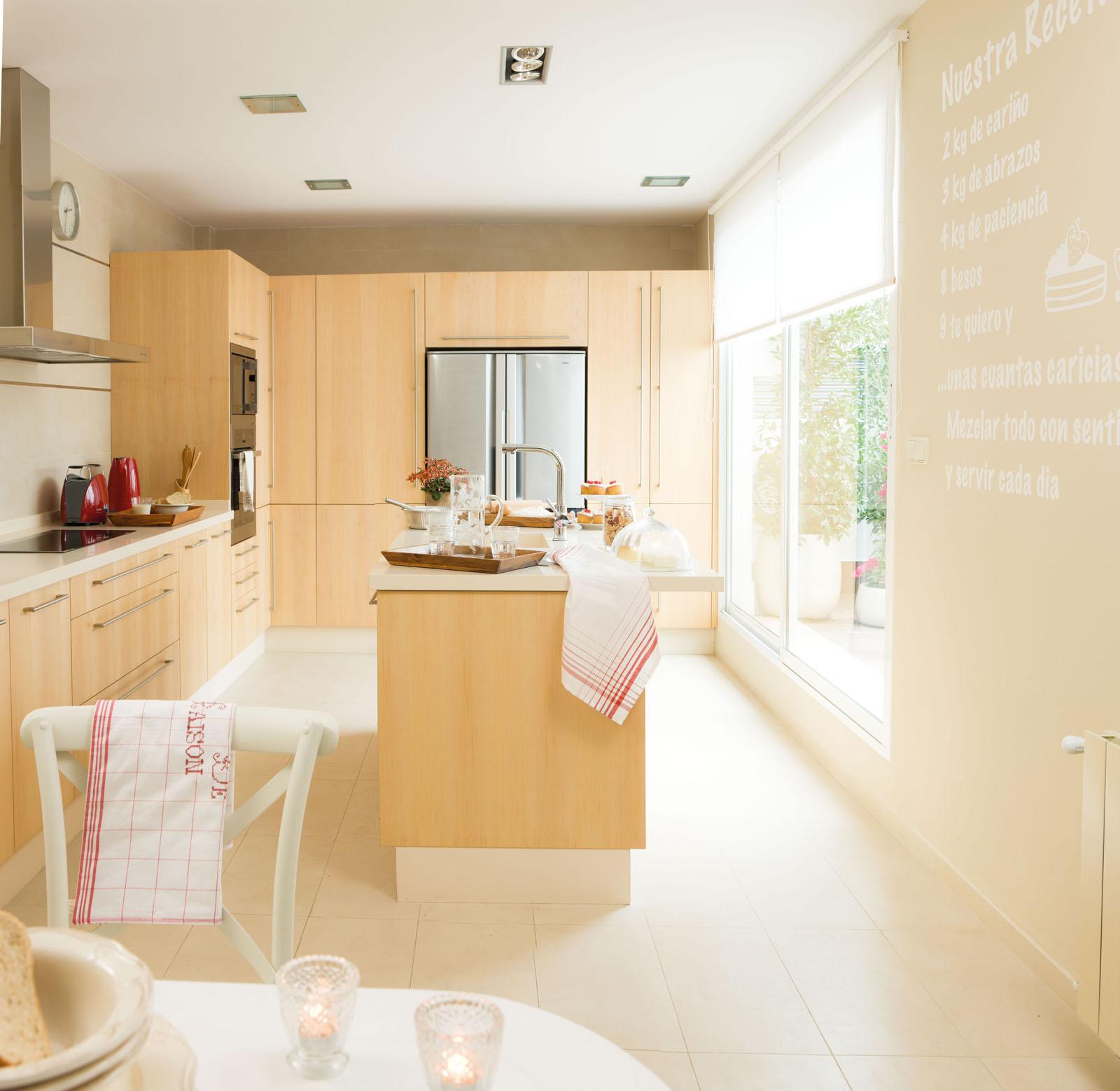 Antes y despu s redecoramos 5 estancias - Cocinas con vinilo ...